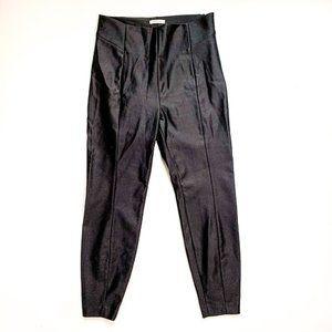 Good American Slim Fit Black Dress Pants